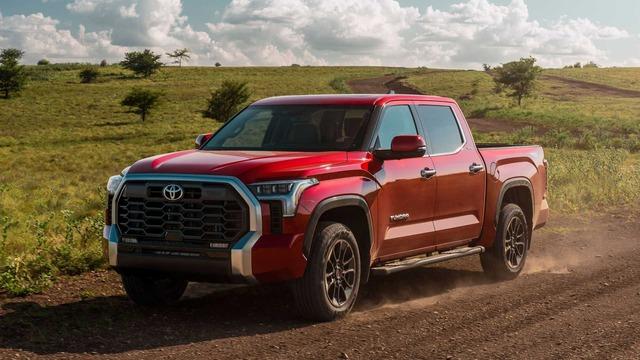 Toyota Tundra 2022 ra mắt: Bán tải full-size đậm chất cơ bắp, ngập tràn công nghệ - Ảnh 4.