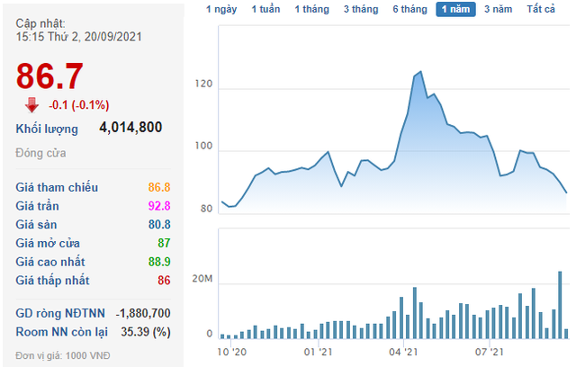 Gần 423 triệu cổ phiếu VIC sẽ giao dịch bổ sung từ ngày 24/9 - Ảnh 1.