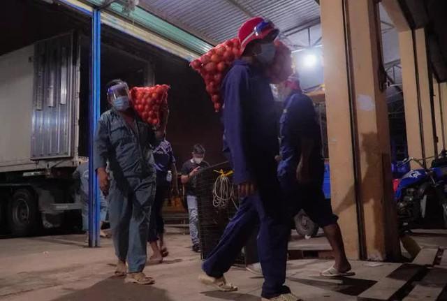 Chợ đầu mối nông sản Hóc Môn sáng đèn trở lại - Ảnh 8.