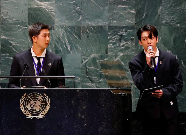 Hơn 1 triệu lượt theo dõi BTS tại trụ sở Liên Hợp Quốc: Tác động đáng kinh ngạc từ ngành công nghiệp tỷ USD của Hàn Quốc - Ảnh 1.