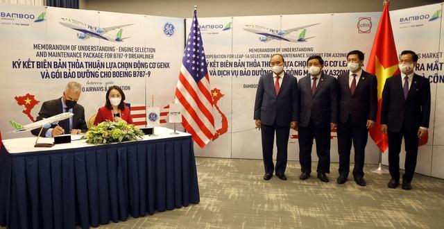 Bamboo Airways chính thức ký thoả thuận 2 tỷ USD với GE, công bố đường bay thẳng Việt – Mỹ dự kiến khai thác đầu năm 2022 tuần suất 3 chuyến/tuần - Ảnh 1.