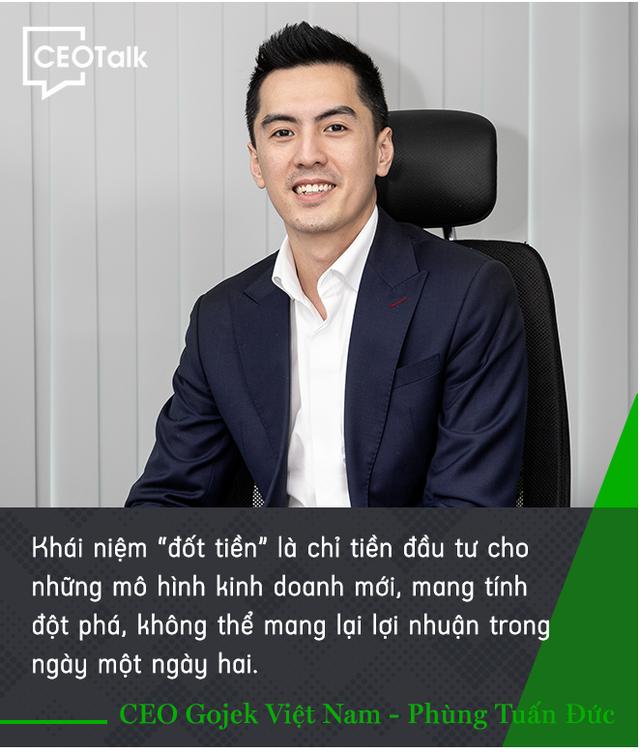 CEO Gojek Việt Nam Đức Phùng: Không nhà đầu tư hiệu quả nào đem tiền ra đốt cả - Ảnh 2.