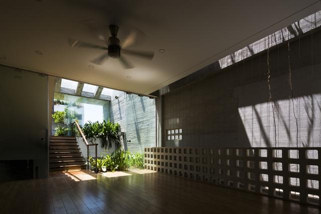 Công viên ngoài trời trên sân thượng ngôi nhà 700 m2 ở Đà Nẵng - Ảnh 5.