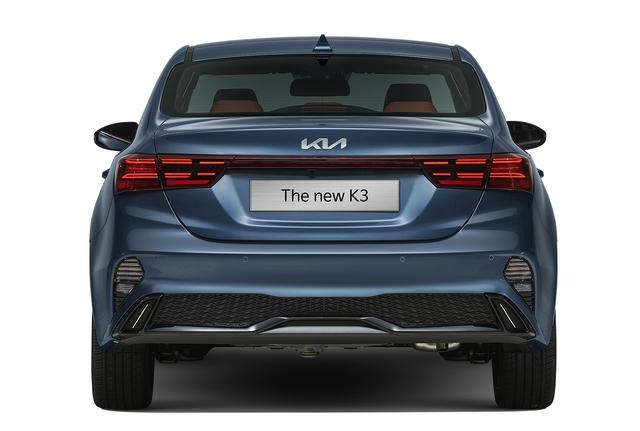Kia K3 2022 ra mắt tại Việt Nam: Thiết kế mới, bỏ phanh tay điện tử, giá từ 559 đến 659 triệu - Ảnh 2.