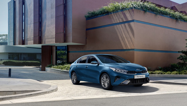 Kia K3 2022 ra mắt tại Việt Nam: Thiết kế mới, bỏ phanh tay điện tử, giá từ 559 đến 659 triệu - Ảnh 11.