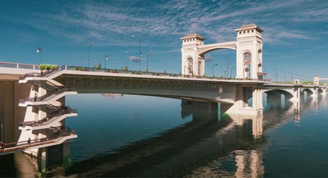 Hội KTS Việt Nam: Cầu Trần Hưng Đạo 8.900 tỷ là hình thức mô phỏng khiên cưỡng nệ cổ, pha trộn hỗn tạp - Ảnh 1.