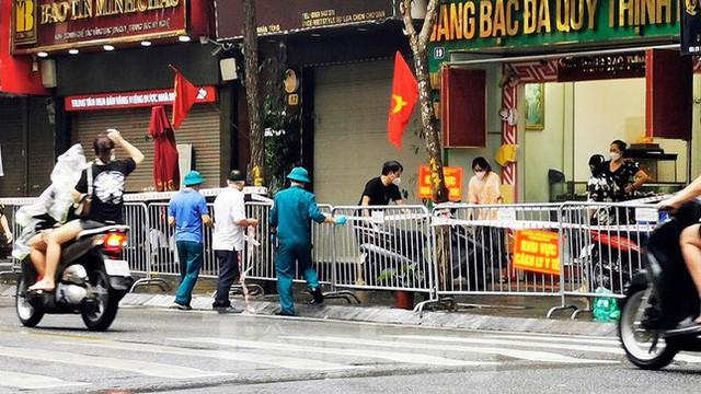 Phát hiện ca mắc mới, Hà Nội phong tỏa một đoạn phố Trần Nhân Tông - Ảnh 5.