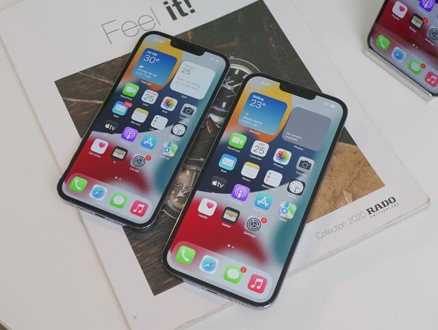 Cận cảnh 3 mẫu iPhone 13 vừa về Việt Nam - Ảnh 8.