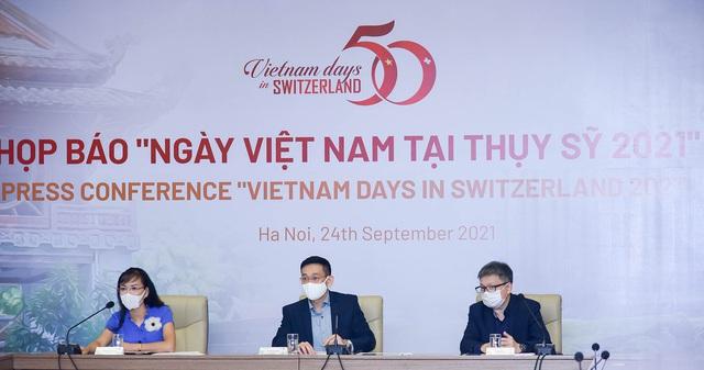 Ngày Việt Nam tại Thụy Sỹ lần đầu tiên được tổ chức trực tuyến - Ảnh 1.