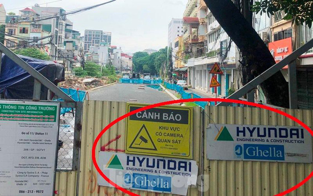 Cận cảnh ga ngầm metro Hà Nội bị nhà thầu nước ngoài dừng thi công - Ảnh 1.