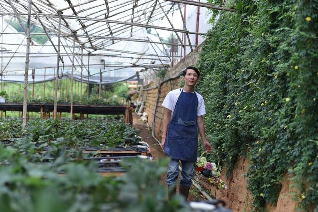 Bỏ việc công sở, chàng trai 8X xây nhà gỗ, trồng hồng, làm farmstay đẹp như mơ ở Đà Lạt - Ảnh 2.