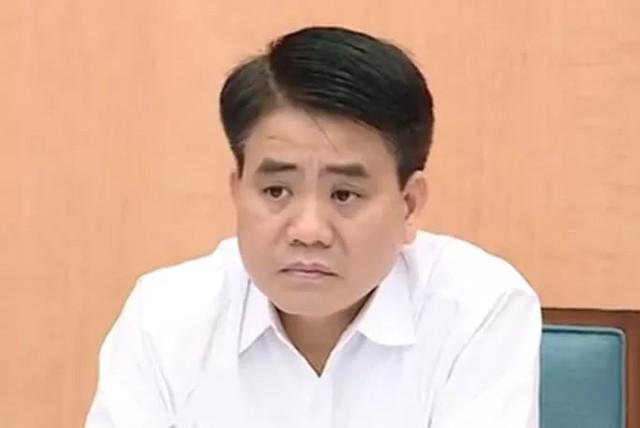Truy tố nguyên chủ tịch Hà Nội Nguyễn Đức Chung trong vụ mua chế phẩm Redoxy-3C  - Ảnh 1.