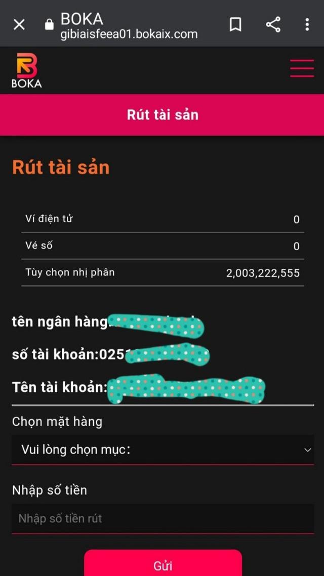 Mất sạch vốn vì đầu tư vào app kiếm tiền, bị lừa tiếp khi vay online  - Ảnh 1.