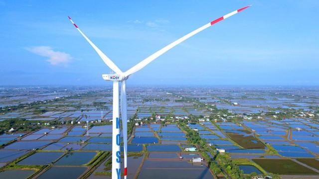 Nhà máy Điện gió Kosy Bạc Liêu: Hoàn thành lắp đặt turbine, sẵn sàng cho ngày phát điện - Ảnh 3.
