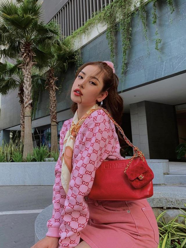 Chi Pu 28 tuổi: Ở villa bạc tỷ có view trung tâm thành phố, mạnh tay chi 10 tỷ đồng cho 1 bộ trang sức, đồ hiệu dát đầy người - Ảnh 6.