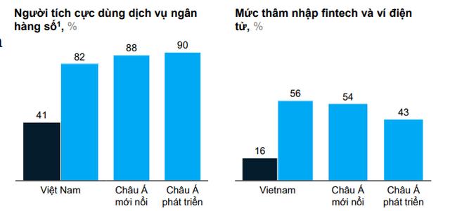 Mức độ thâm nhập của ngân hàng số, ví điện tử tại Việt Nam đang đến đâu? - Ảnh 1.
