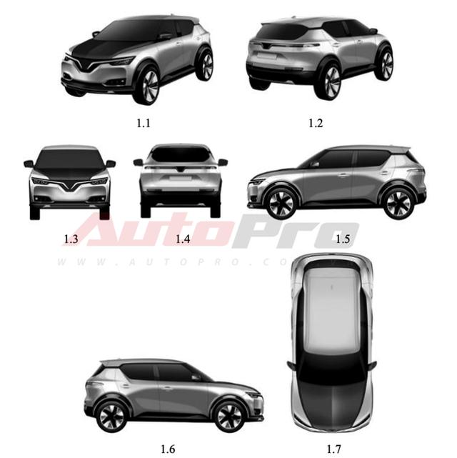 Lộ diện ô tô VinFast hoàn toàn mới: Đẹp như xe sang, nhà thiết kế của GM chắp bút, có thể là VF e34P - Ảnh 1.