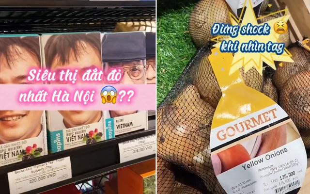 Review siêu thị đắt đỏ nhất Hà Nội khiến dân tình choáng váng: Mang 10 triệu vào là đi bay như chơi? - Ảnh 1.