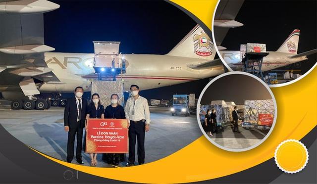 Vắc-xin Covid-19 Hayat-Vax sản xuất tại UAE đã về đến Việt Nam  - Ảnh 1.