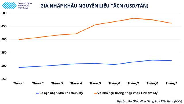 Xu hướng giá nguyên liệu nhập khẩu trong quý IV và biến số của ngành chăn nuôi trong nước - Ảnh 2.