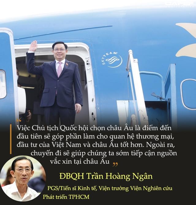 PGS.TS Trần Hoàng Ngân lý giải tầm quan trọng trong chuyến công du nước ngoài đầu tiên của Chủ tịch Quốc hội Vương Đình Huệ - Ảnh 2.
