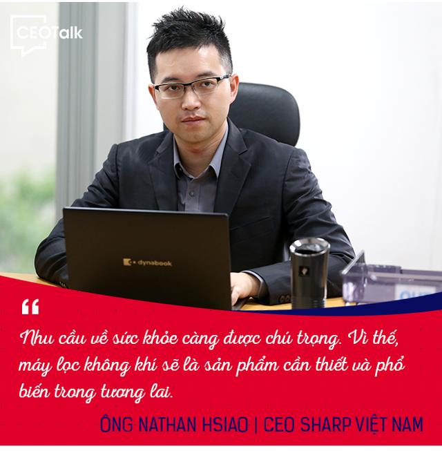 CEO Sharp Việt Nam: Người dùng Việt tiết kiệm hơn người Thái Lan, Nhật Bản - Ảnh 2.