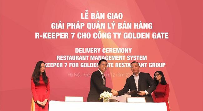 Golden Gate chi mạnh đầu tư giải pháp quản lý nhà hàng R-Keeper 7