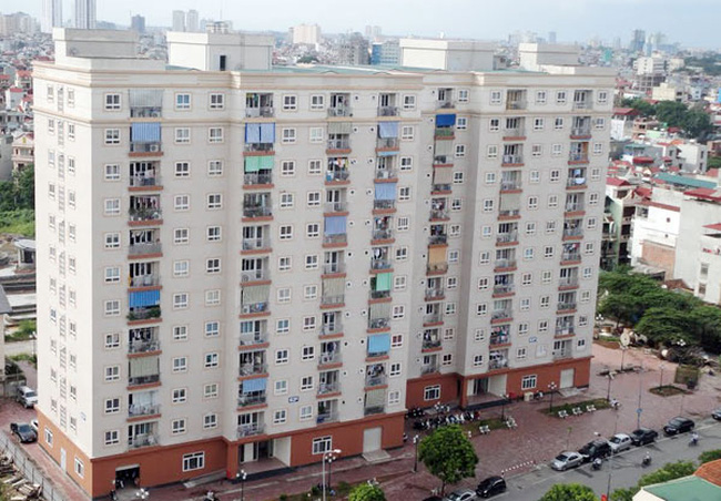 Bất an nhà tái định cư ở Hà Nội