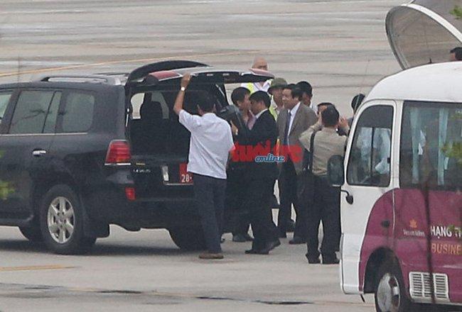 Đại tướng Phùng Quang Thanh về đến Hà Nội