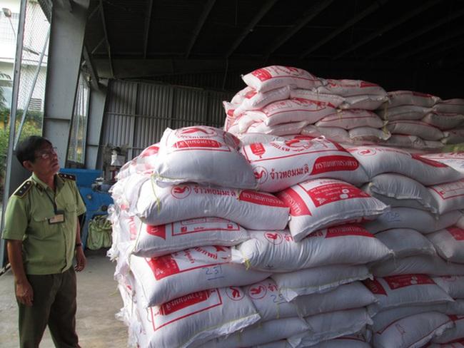 Gạo lậu Thái Lan đổ về Sài Gòn