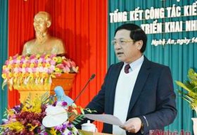 Thủ tướng phê chuẩn nhân sự tỉnh Nghệ An