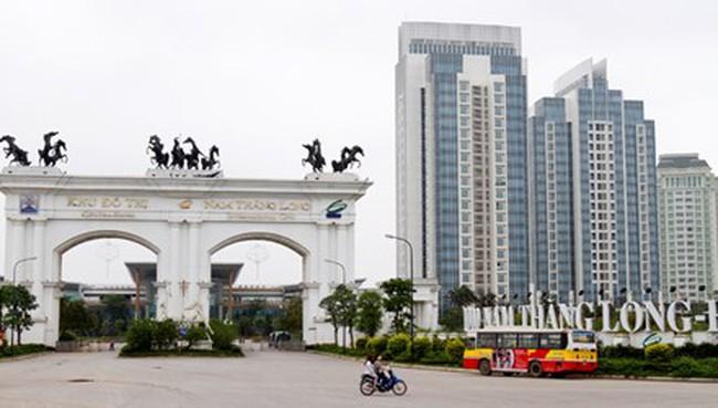 Những khu đô thị không xử lý nước thải ở Hà Nội