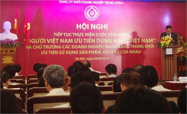 30 tập đoàn, ngân hàng 'bắt tay' dùng hàng Việt