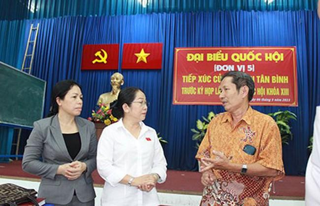 Cử tri Tân Bình, TP.HCM: 'Chưa nên vội xây sân bay Long Thành'