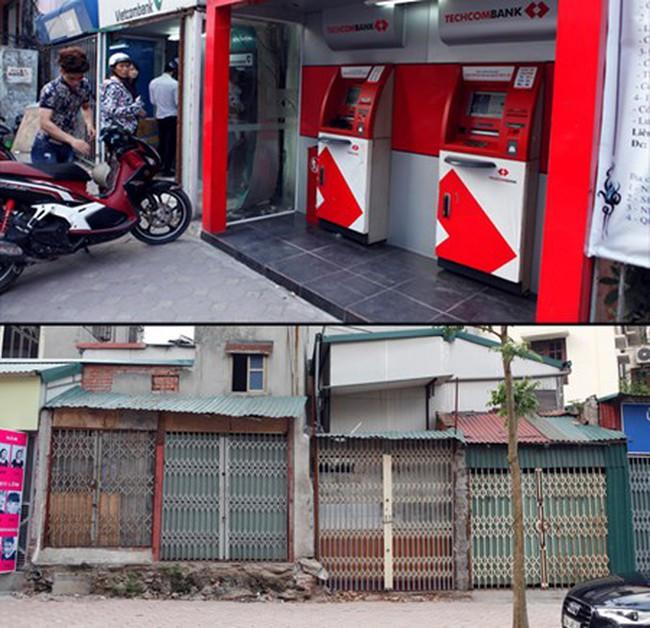 Chùm ảnh: Những căn nhà bé như… trạm ATM giữa Thủ đô