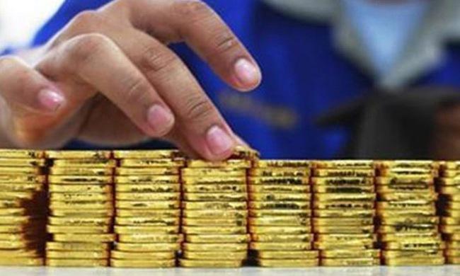 Vàng miếng tiếp tục giảm giá mạnh