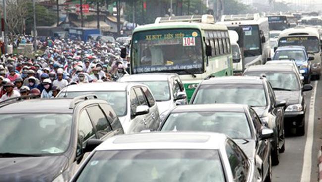 TPHCM có thể tăng 5,5 lần phí đăng ký mới ô tô