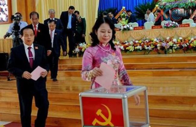 Đồng chí Võ Thị Ánh Xuân được bầu giữ chức Bí thư tỉnh An Giang