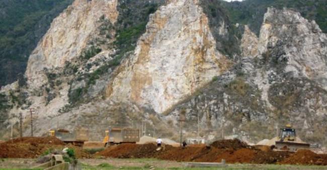 "Sơn La ""khai tử"" 35 mỏ khai thác khoáng sản"