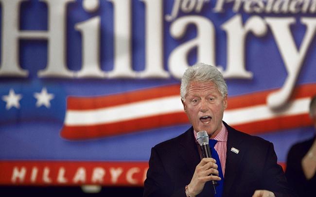 """Bill Clinton – ưu thế hay """"gót chân Achilles"""" của Hillary Clinton?"""
