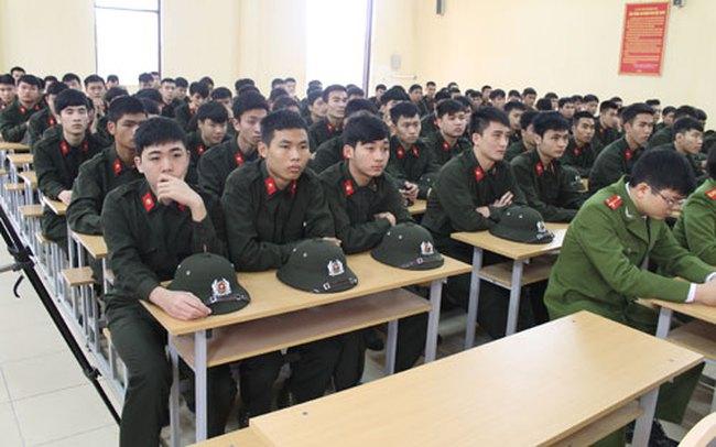 Tốt nghiệp đại học được ưu tiên đi nghĩa vụ công an