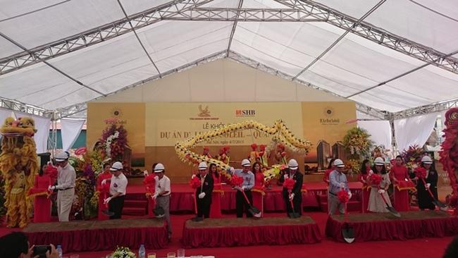 Khởi công xây dựng dự án căn hộ cao cấp D'. Le Roi Soleil –Quảng An