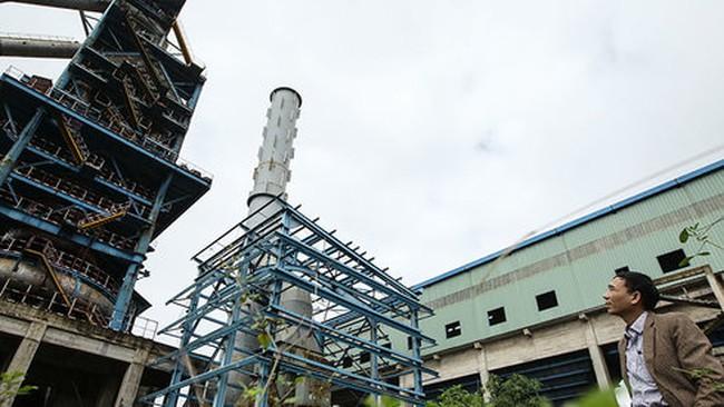 Nhà máy 8.100 tỉ thành đống sắt gỉ