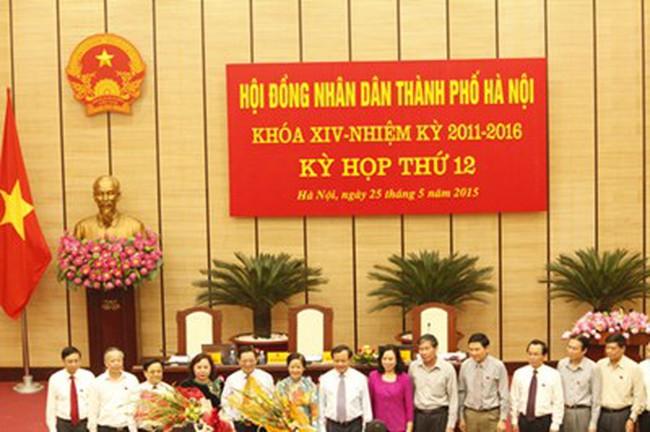 Sẽ bầu chức danh Chủ tịch UBND TP Hà Nội tại kỳ họp HĐND TP