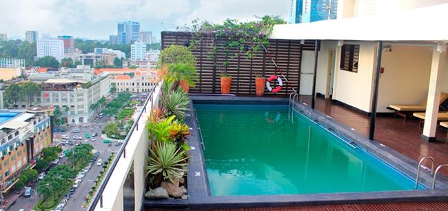 Kết quả hình ảnh cho bể bơi trên sân thượng