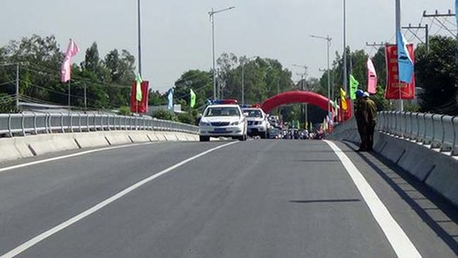 Khánh thành cầu lớn nhất tỉnh An Giang