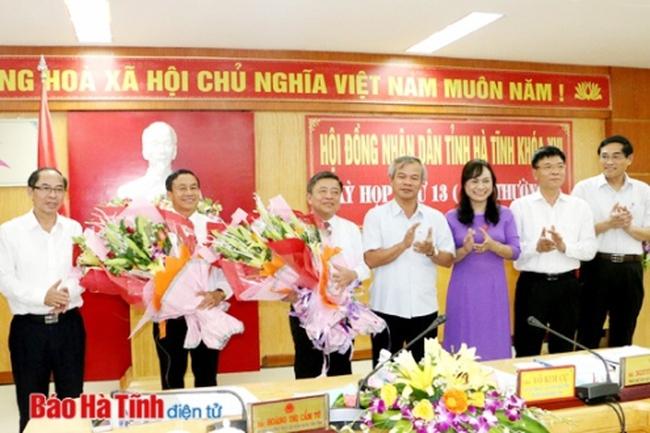 Ông Lê Đình Sơn được bầu làm Chủ tịch UBND tỉnh Hà Tĩnh