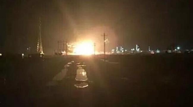 Trung Quốc: Lại xảy ra một vụ nổ nhà máy hóa chất ở Sơn Đông