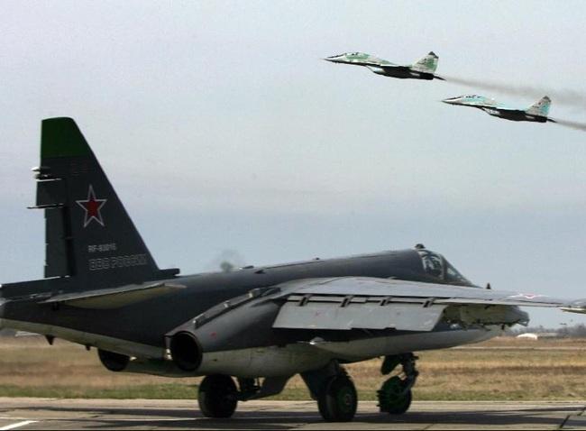 Máy bay Nga lại vi phạm không phận một nước láng giềng của Syria