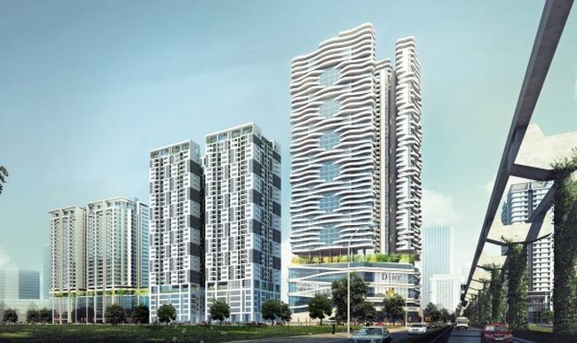 Khởi công xây dựng chung cư N01-T5 tại Khu Ngoại giao đoàn
